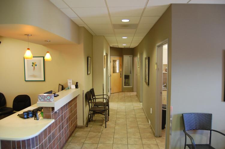 Urgent care hallway