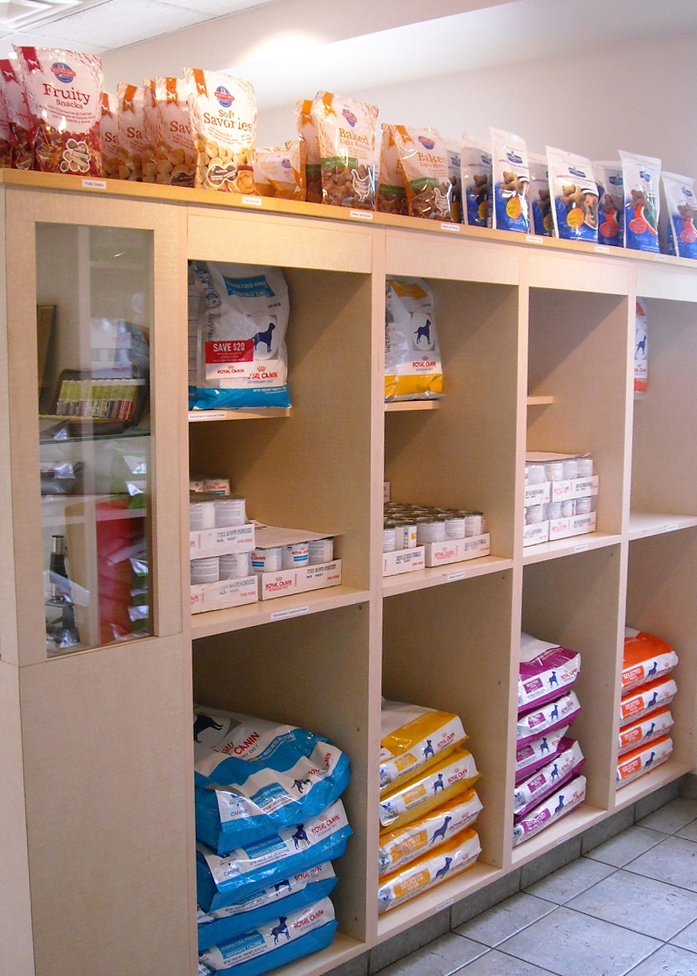 Dog food shelf #2!