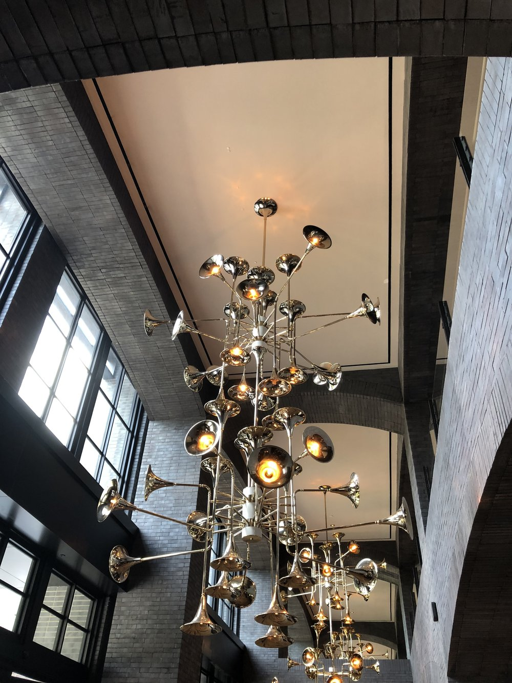 """Everything is bigger in Texas"" and this chandelier fits this saying perfectly. Lighting is my favorite design element and this is a show-stopping example of how diverse and unique a fixture can be"