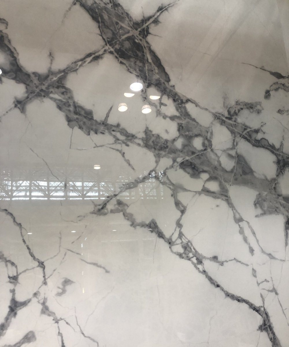 Porcelain Slabs - to be used for countertops, showers and more…