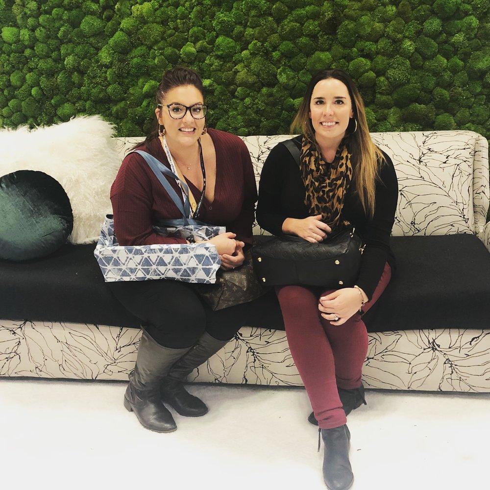 Exploring with a fellow Interior Designer