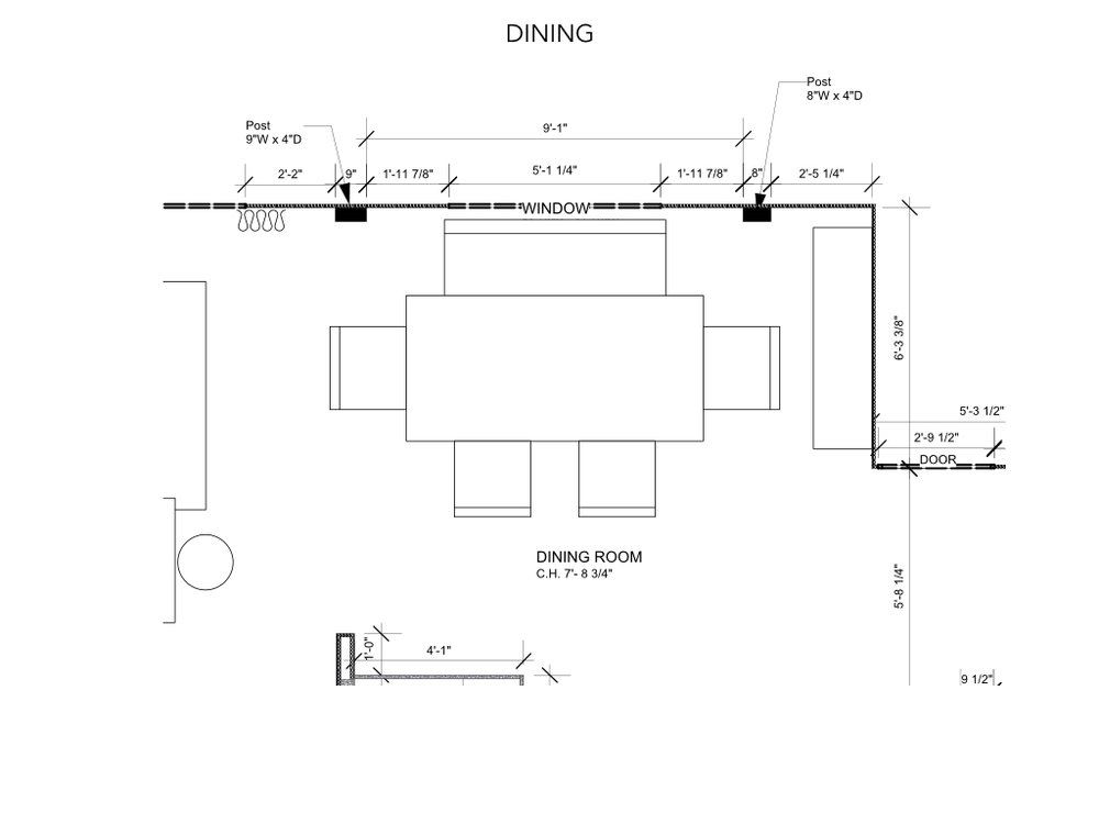 Dining Room Floorplan