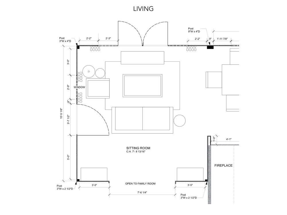 Living Room Floorplan