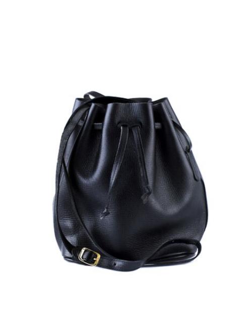 Apapa bucket bag black