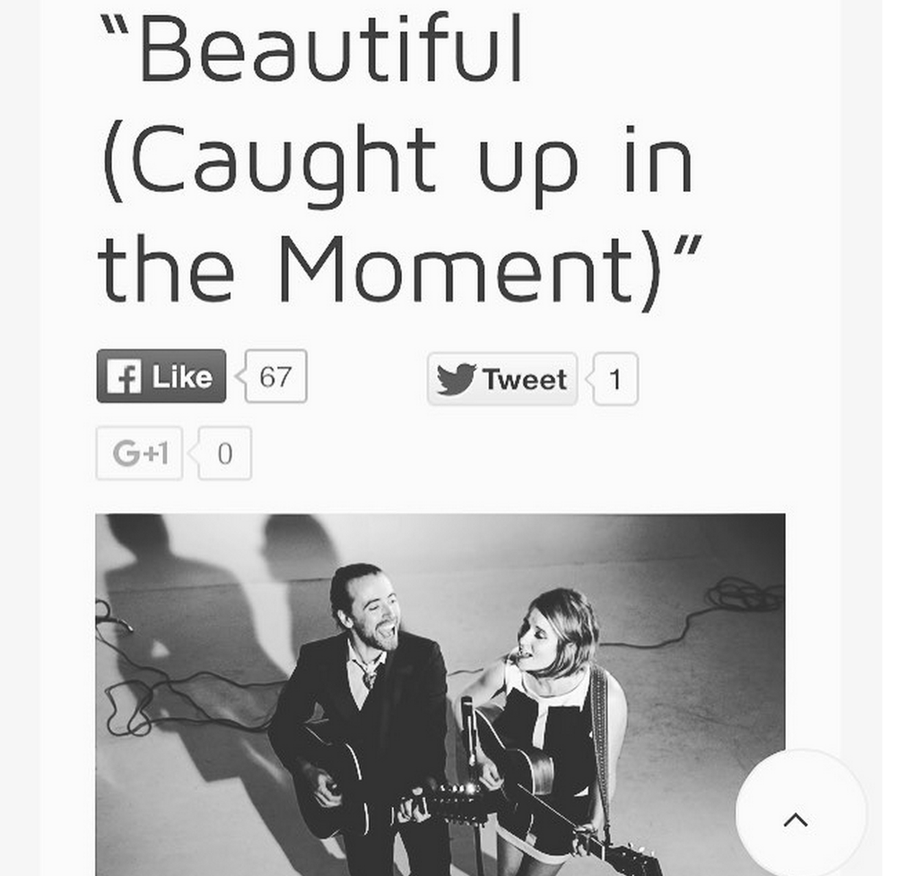 "Groundsounds ""Nashville folk-pop siblings Pageant premiere ""Beautiful (Caught up in the Moment)"" Sept 25, 2015"