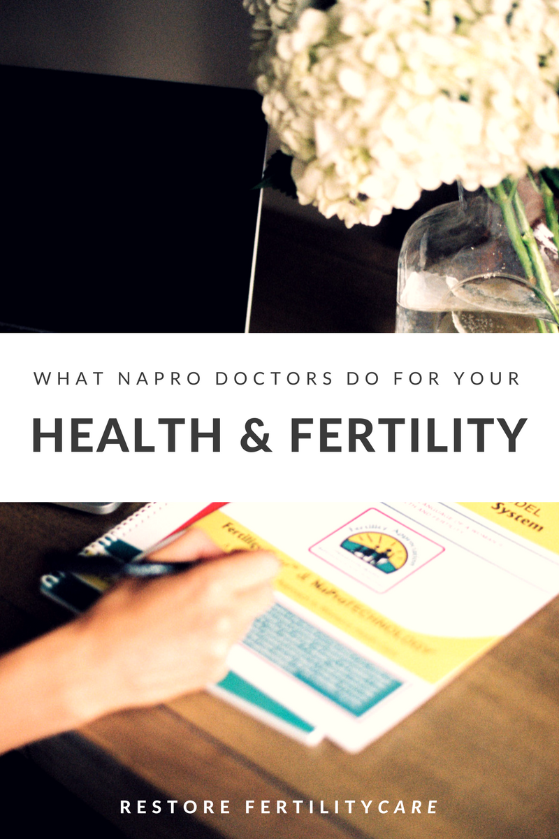 A NaPro doctor is your partner in restoring & maintaining optimal reproductive health & fertility. They can help evaluate and treat infertility, repetitive miscarriage, PCOS, hormonal imbalance, endometriosis and more.