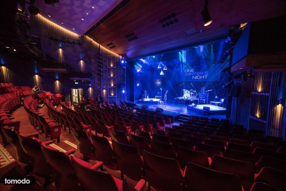 Auditorium before the audience
