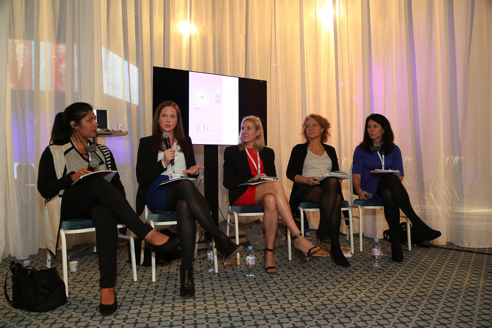 Acumen and ICRW Panel at the Women's Forum, 2015