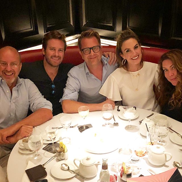 A perfect NY night...theatre, friends and a great meal ( w/lots of 🍸🍸) @elizabethchambers @tolanflorence @erichughesdesign you were missed @tylerflorence ! Get yourself to NY and see my pal @armiehammer in #straightwhitemen on Broadway, he's amazing!