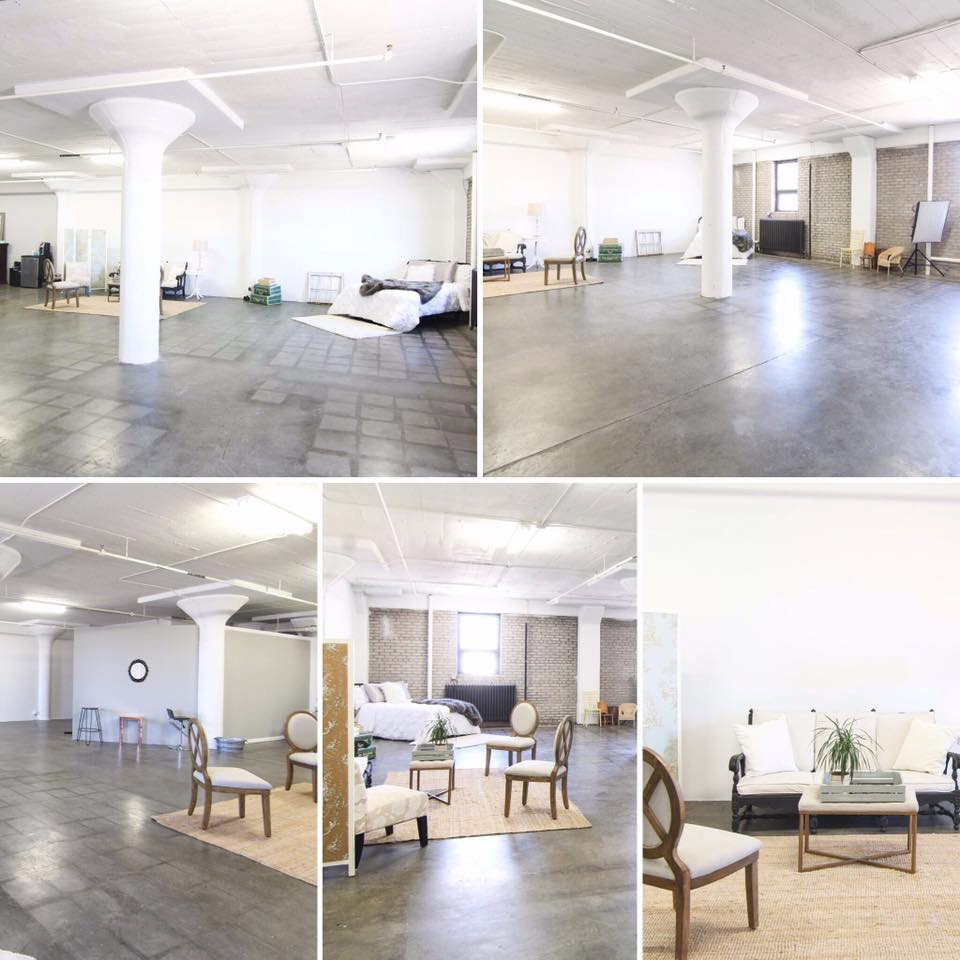 Natural Light studio in the Twin Cities