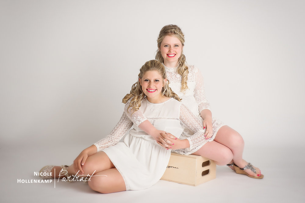 Abby and Claire Glamour Session