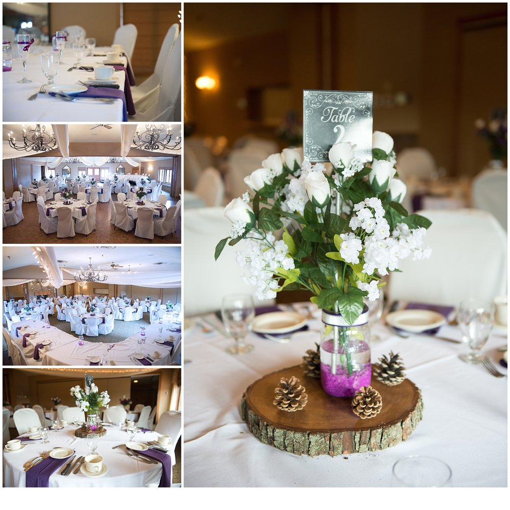 My favorite crafted detail was the centerpieces a ton of time and thought went into them.