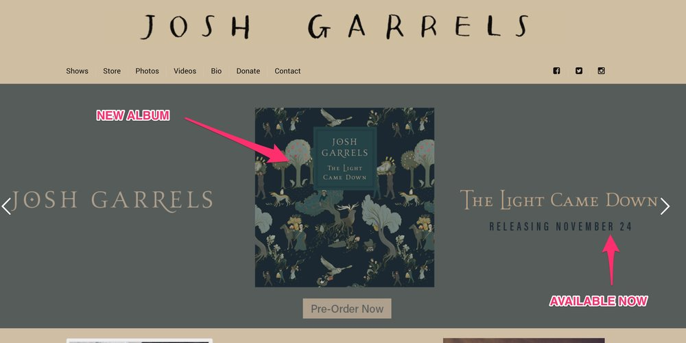 Josh Garrels New Album