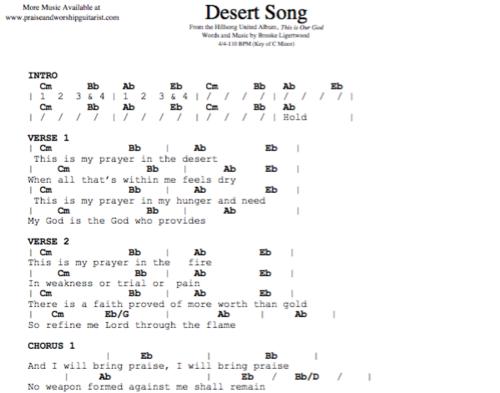 Hillsong United: Desert Song — Praise & Worship Guitarist