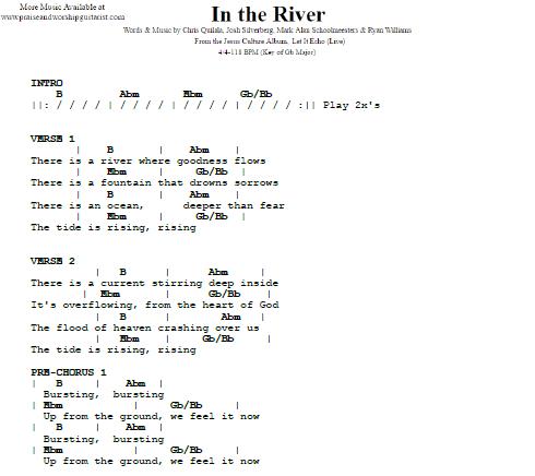 Jesus Culture In The River Praise Worship Guitarist