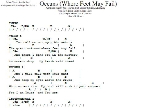 Hillsong United Oceans Praise Worship Guitarist