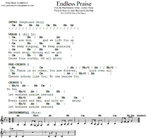 Endless Praise: E-Flat Major — Praise & Worship Guitarist