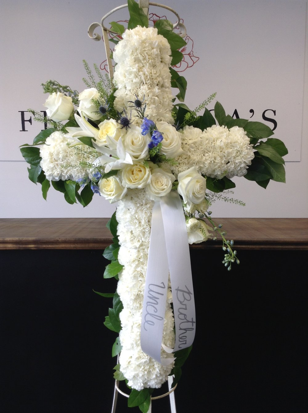 Funeral Crosses Franchescas Events Floral