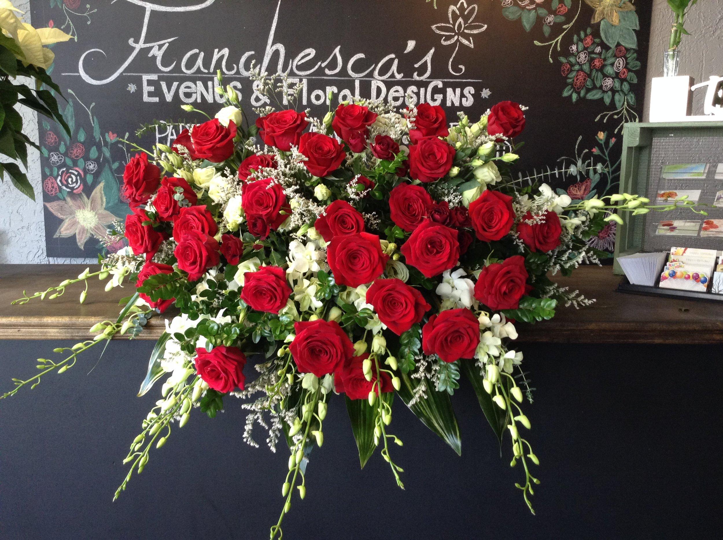 Casket Flowers Franchescas Events Floral