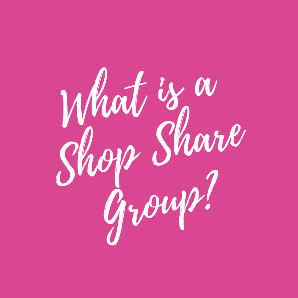"""What is a Shop Share Group?"""