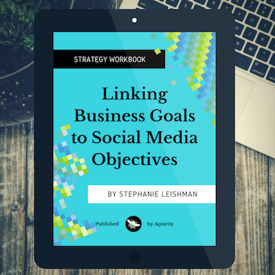 This post comes from Exercise 4 of Linking Business Goals to Social Media Objectives - Click here to learn more about this workbook.