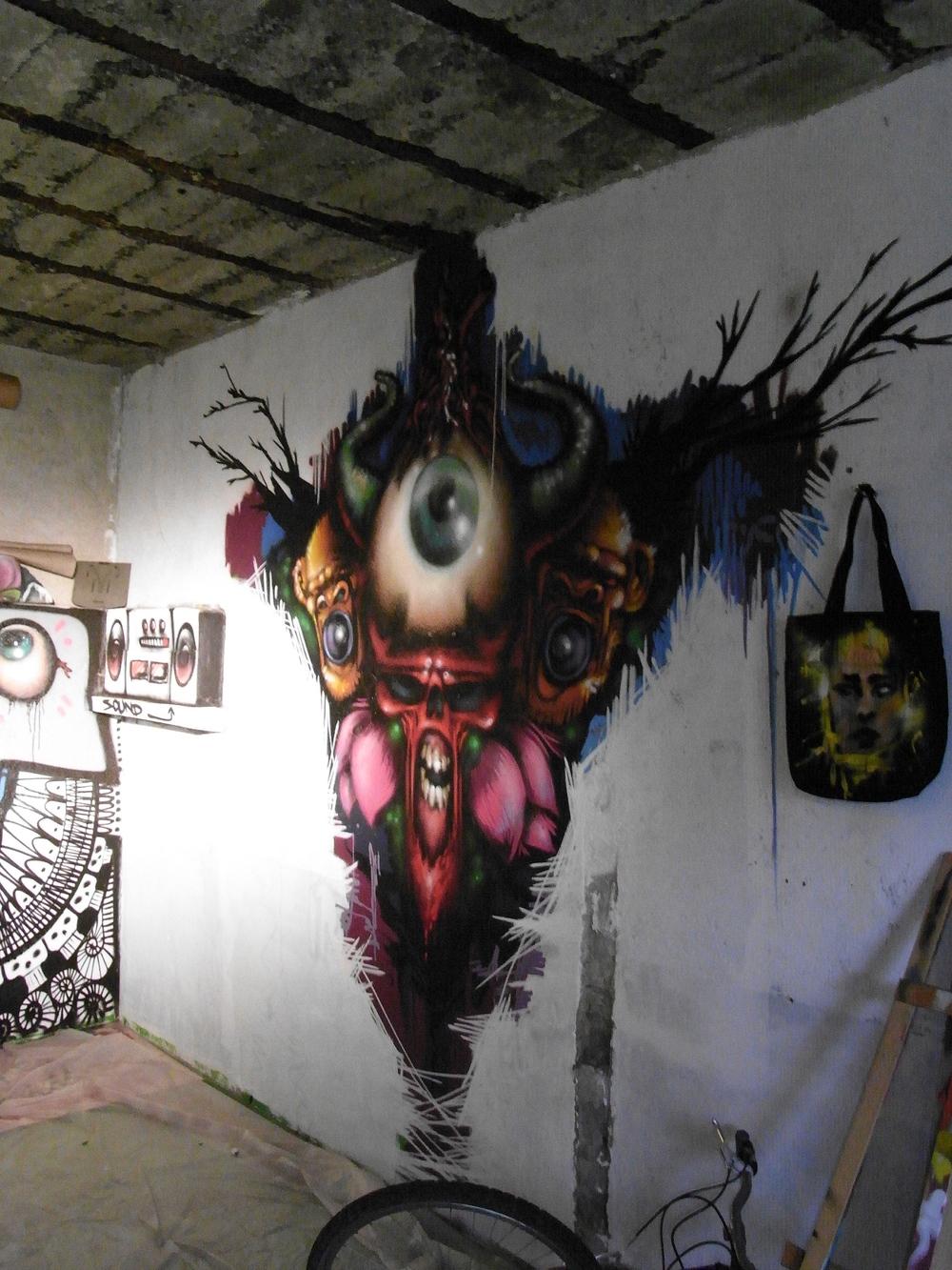 Août 2010 - Atelier Rochecorbon