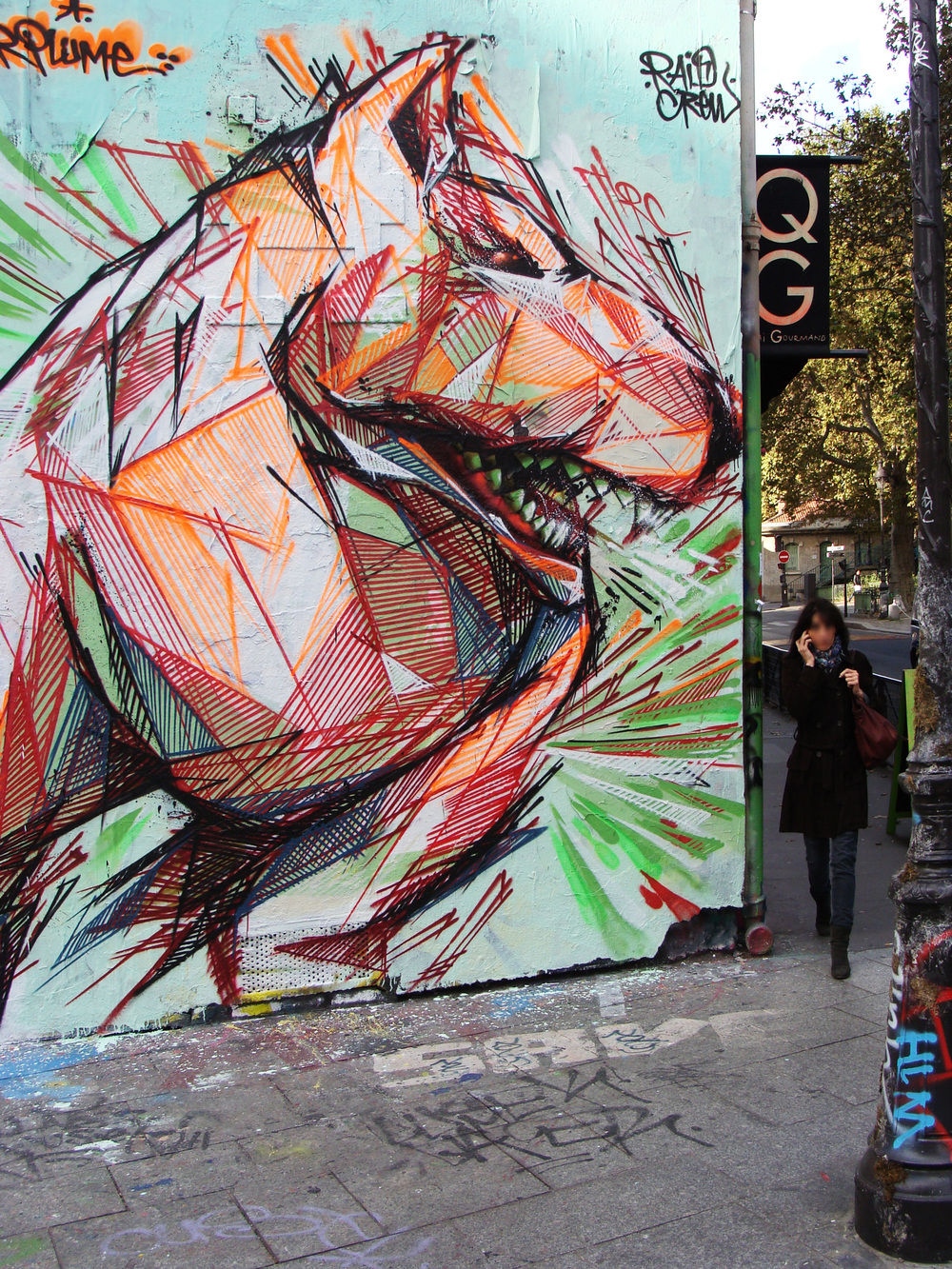 Octobre 2013 - Paris - Monsieur Plume w/Sun C