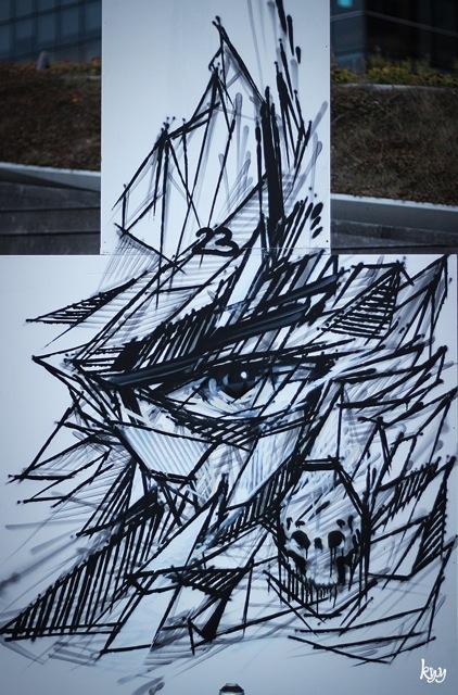 Octobre 2014 - Paris - Collectif Massiv Art