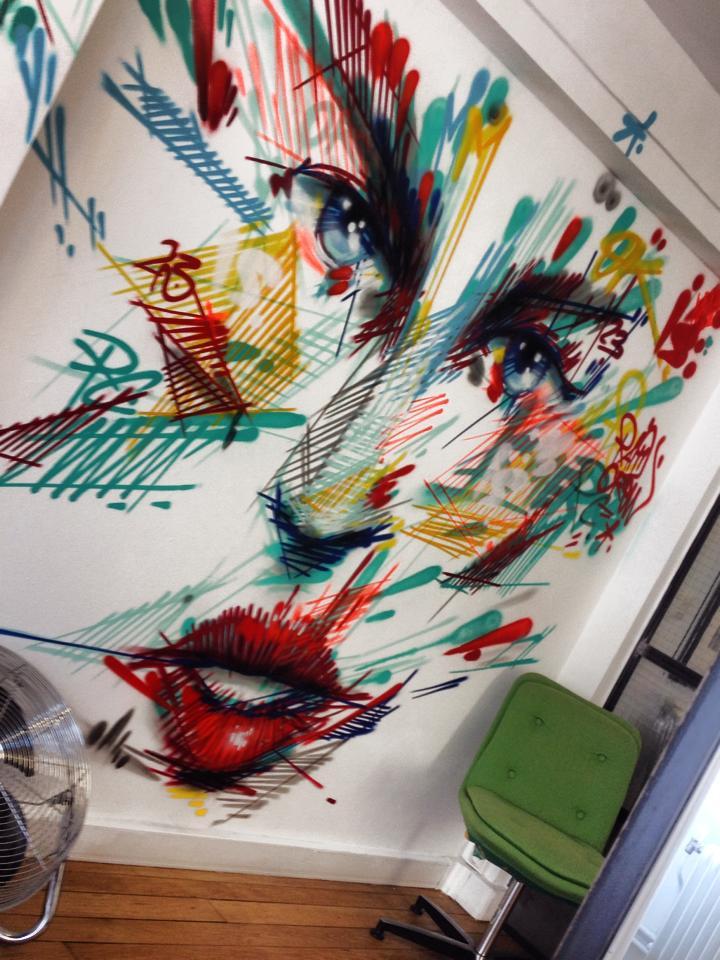 Juin 2014 - Paris - Atelier Ismérie