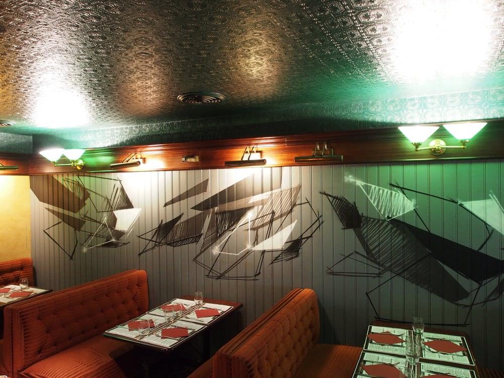 Janvier 2016 - Tours - Déco Restaurant Bar -  Monsieur Plume RC OTM
