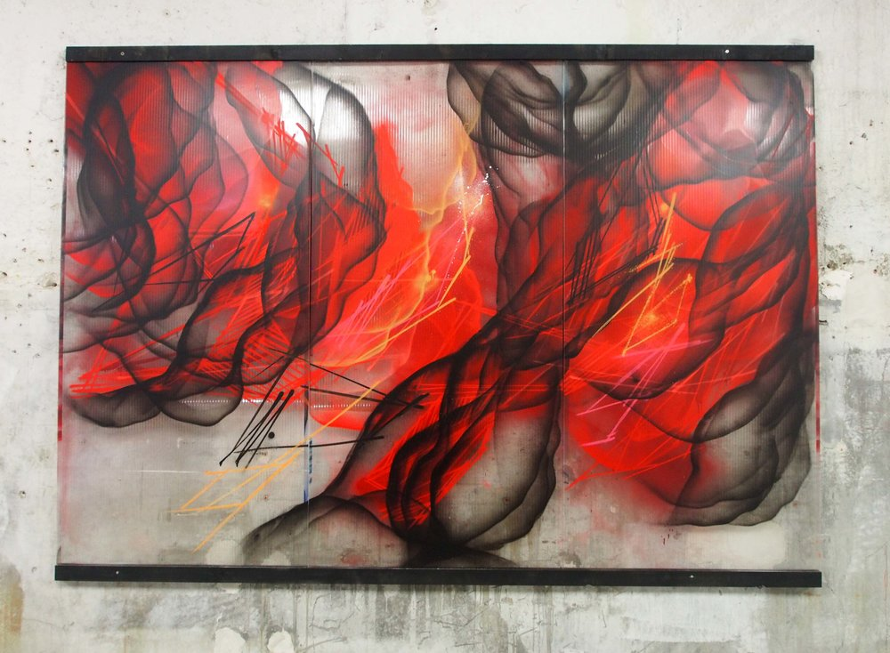 S - 200x300cm - Spray on Polycarbonate