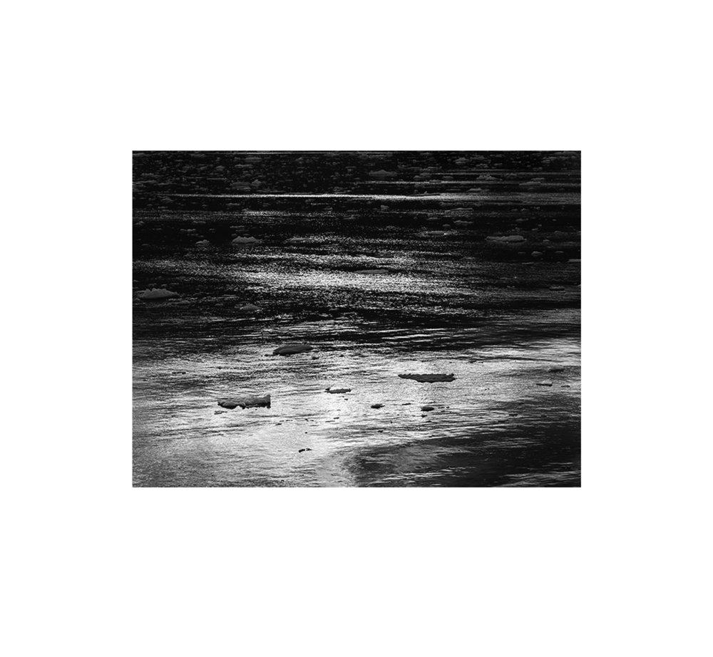 Ice Shadows No. 18