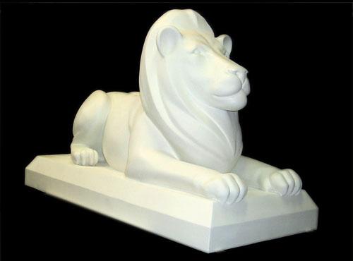 Fiberglass Lion