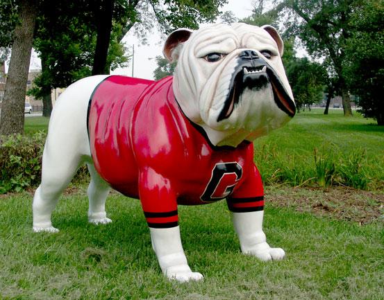 Fiberglass Bull Dog