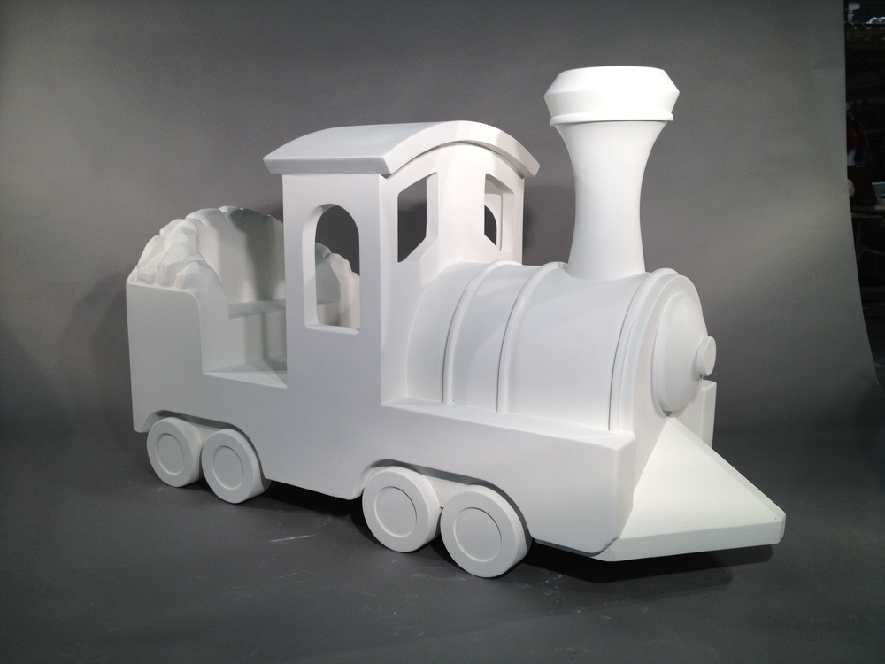 Fiberglass Train Engine
