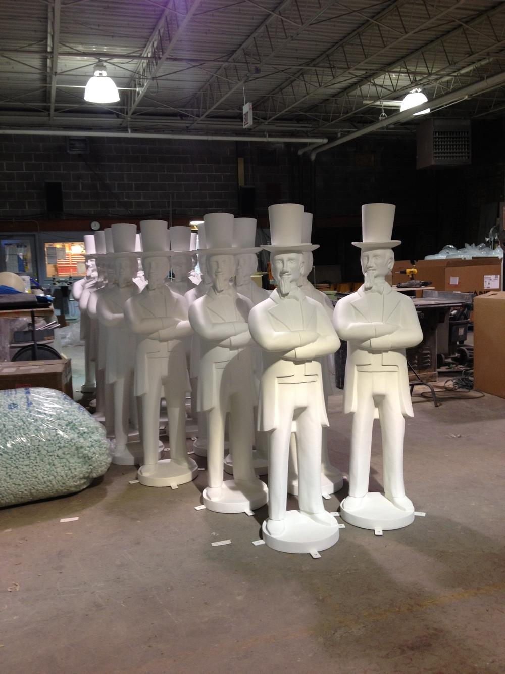 Fiberglass Uncle Sam Statues