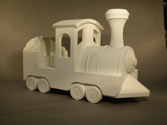 Northwest Connecticut Chamber of Commerce Fiberglass Trains