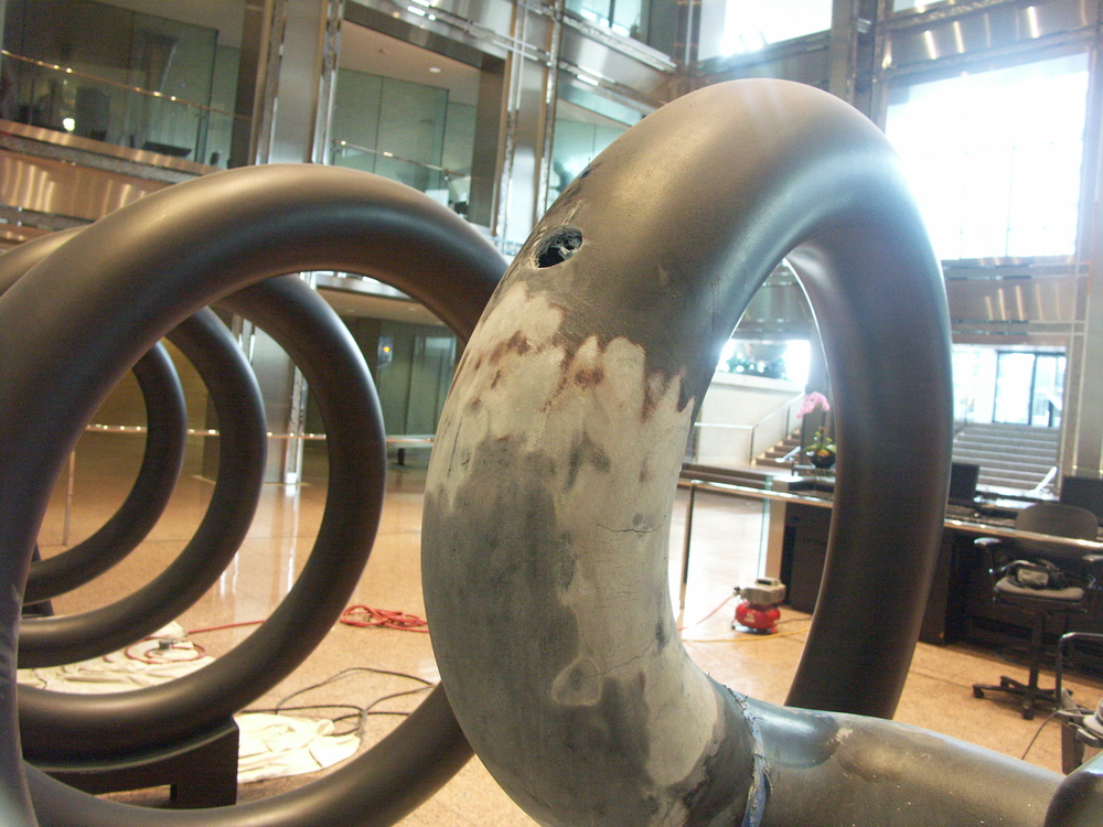 Fiberglass Repair on Calder Helix