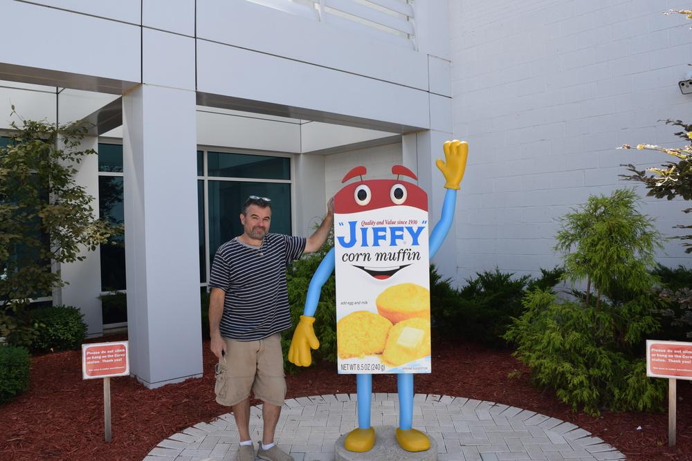 Jiffy Mix Mascot Corney