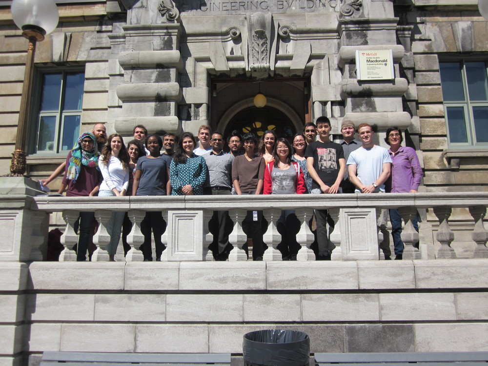 The lab group in summer 2015
