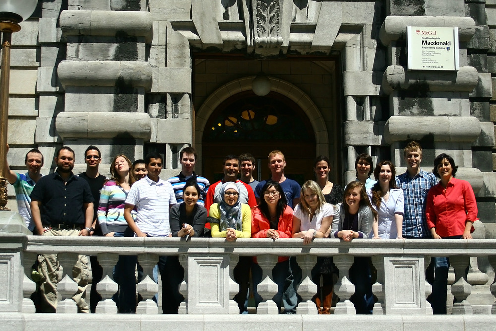 The lab group in summer 2011