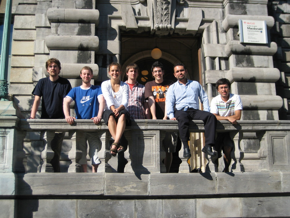 The lab group in summer 2007