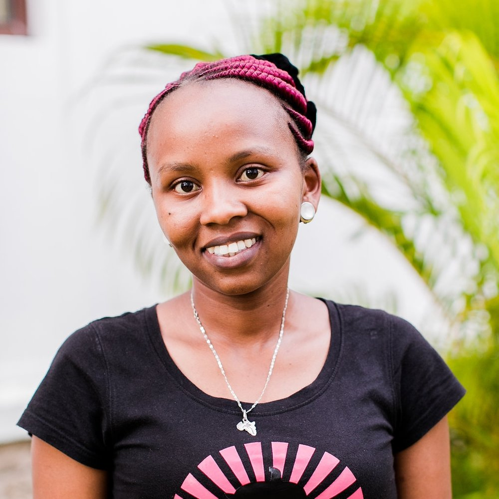 - Medical Counselor: Joan Waitherero Njihia  Joan grew up in Nairobi, Huruma location. She is the first born in a family of three. She has been employed with CFA since 2017. Joan says her favorite part of the job is home visits.