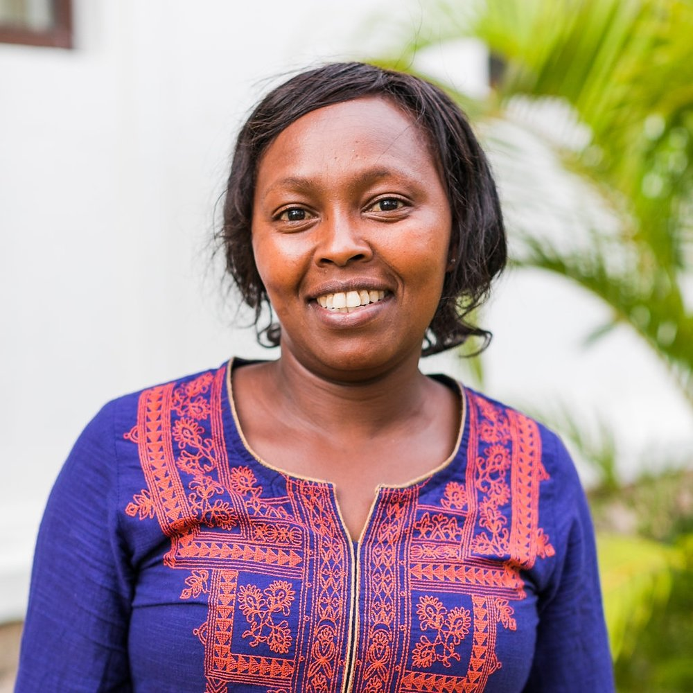 - HEALTH COUNSELOR: ESTHER KABURUEsther joined the CARE for AIDS team in 2013. She has faithfully served clients in Ruiru over the past four years and loves seeing the transformation in their lives.