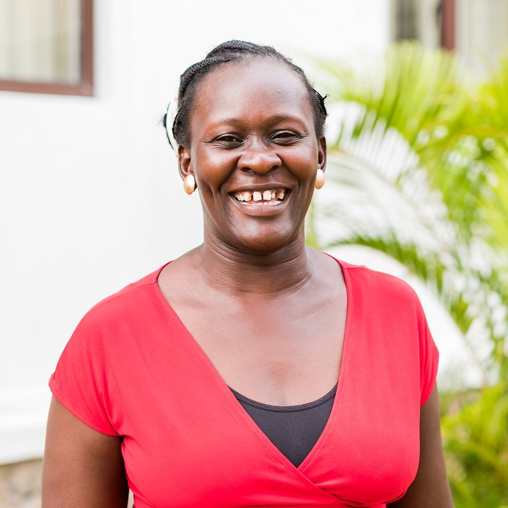 - Spiritual Counselor, Rhoda Awino OmondiRhoda joined CFA in 2014 out of concern for ht disowned in the community.