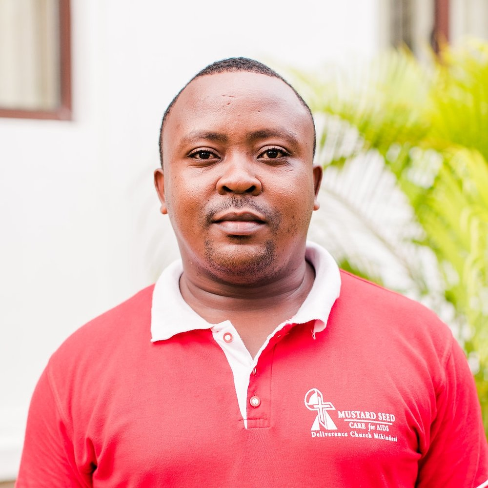 "- Spiritual Counselor, Gideon Mutuku    Gideon grew up in Mombasa in a Christian family. In 2017 he began serving with CFA.  He tells us he joined because ""God picked me from mud and set me high. I wanted to extend the love of Christ to the community. The suffering of people with HIV really moved me. I wanted to be a vessel for the Lord to use to transform people and families."" Gideon's favorite part of the job is one on one counseling."