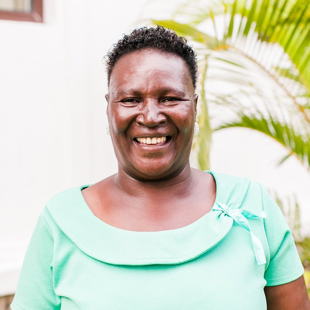 """- Spiritual Counselor Catherine KahuheCatherine came on staff with CARE for AIDS in 2015 and was one of the first female spiritual counselors on the team. She is a strong leader and is passionate about her work with the clients in Kongowea.""""My favorite part of my work is when I counsel clients and I teach them the word of God, the true Gospel. I want to give them hope and to see them independent and living beyond their status."""