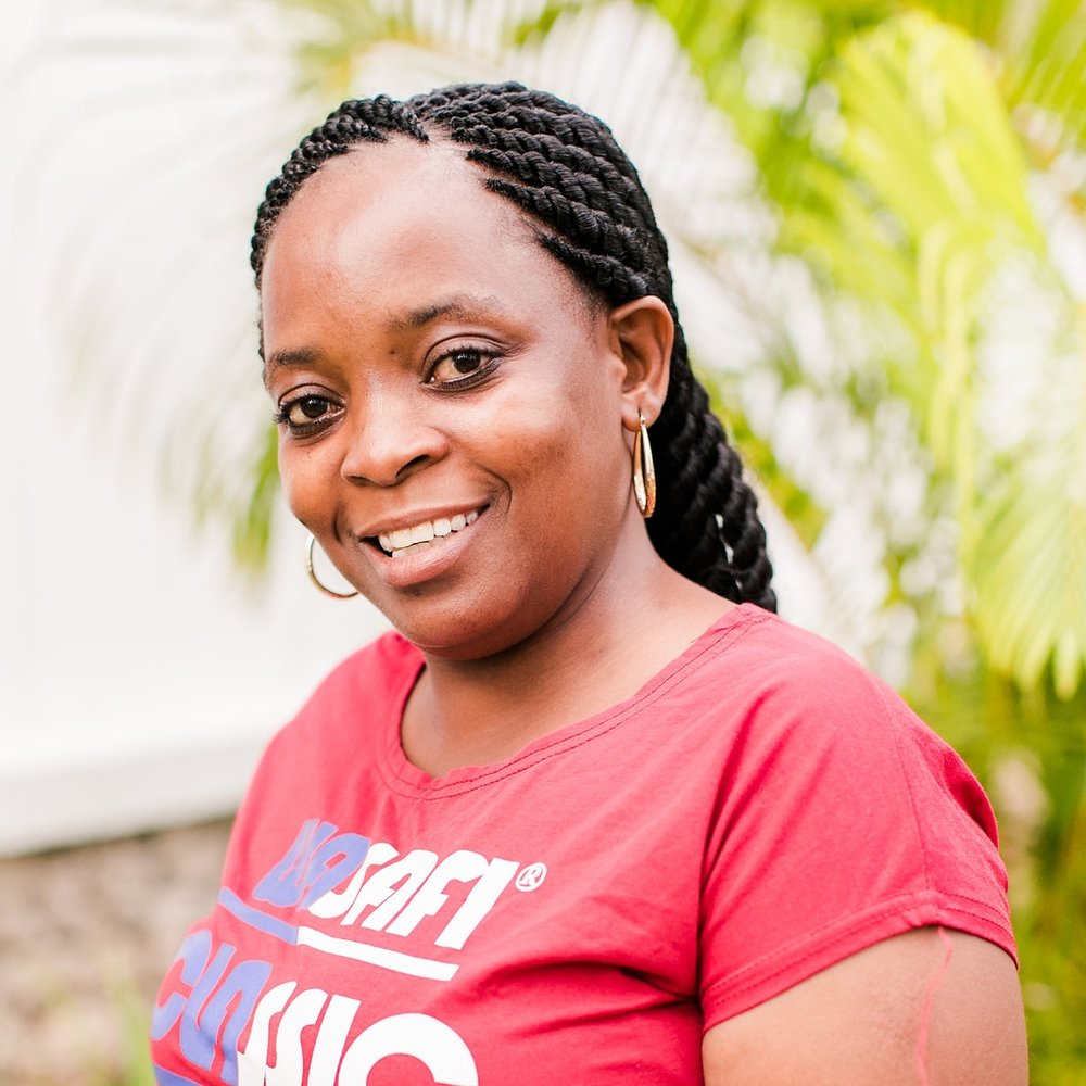 - Health Counselor: Rose MbegaRose joined the CARE for AIDS team in June of 2015 and is passionate about her work with HIV+ parents. Her favorite part of the job is when she sees clients improve physically, economically and spiritually.