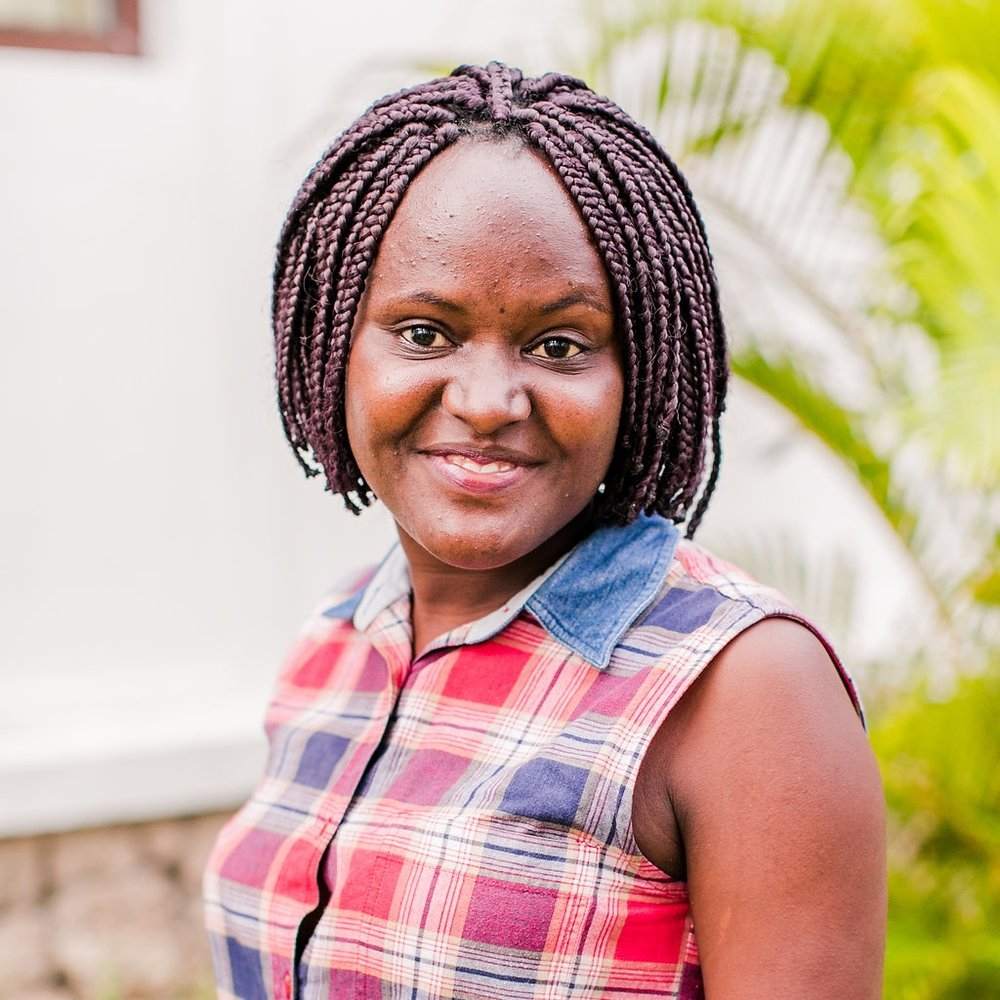 """- Medical Counselor, Sarah Njeri GithaigaSarah grew up in Mombasa, adopted by her aunt. She began serving as a medical counselor at the center in 2015.""""I had a passion for the hopeless people to know that there is hope and they can live a good life."""" She dreams for her clients to see their lives improving and to be filled with joy."""