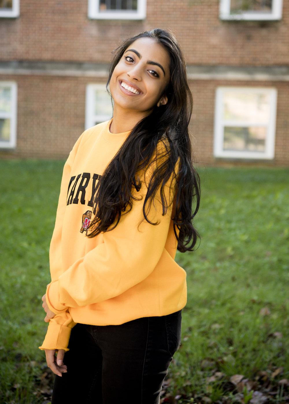 Samhita Chundury - Sophomore, Bioengineering